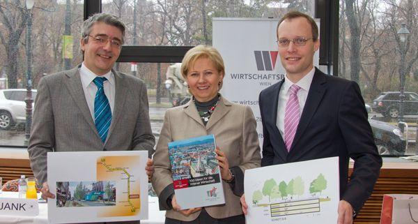 Der Wirtschaftsbund Wien stellte eine Agenda mit 100 neuen Ideen vor.