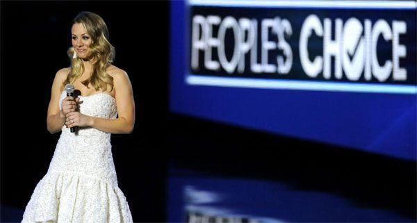 """Big Bang Theory""-Star Kaley Cuoco war Host bei den People's Choice Awards."