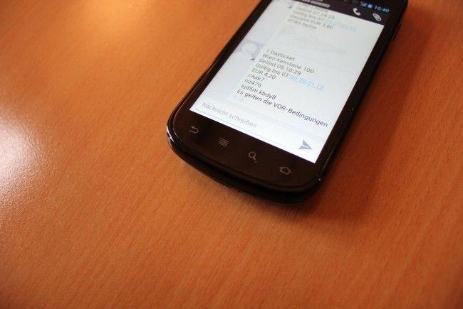 650.000 Mal über den virtuellen Ladentisch gegangen: Das SMS-Ticket der Wiener Linien