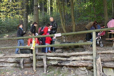 Eindruck vom Herbstfest im Naturpark Sparbach