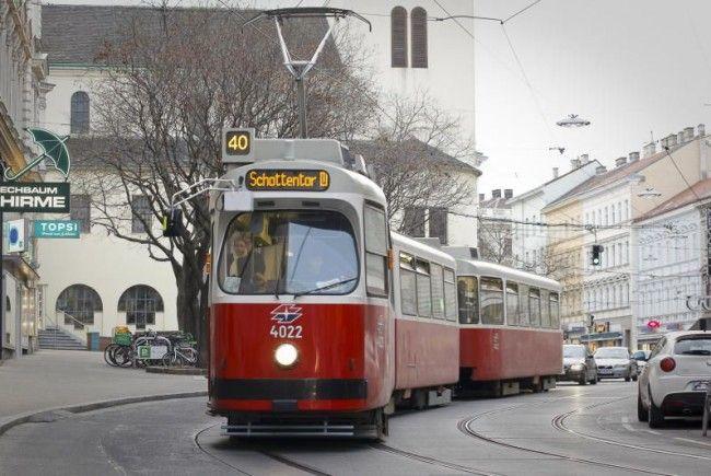 Die Bim ist vorrangiges Verkehrsprojekt in Wien
