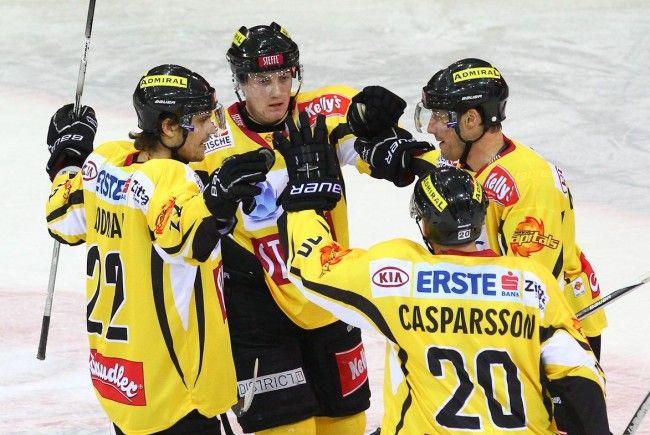 Die Vienna Capitals konnten sich gegen SAPA Fehervar AV19 durchsetzen.