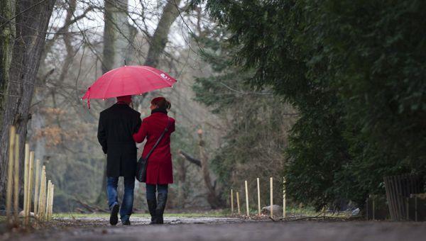 Die Wetter-Prognose sagt mildere Temperaturen, aber viel Regen vorraus.
