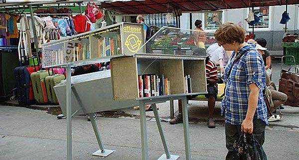 Die Offenen Bücherschränke erfreuen sich höchster Beliebtheit