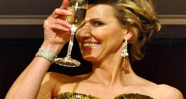 Desirée Treichl-Stürgkh zog sich den Unmut der Opernball-Mitarbeiter zu