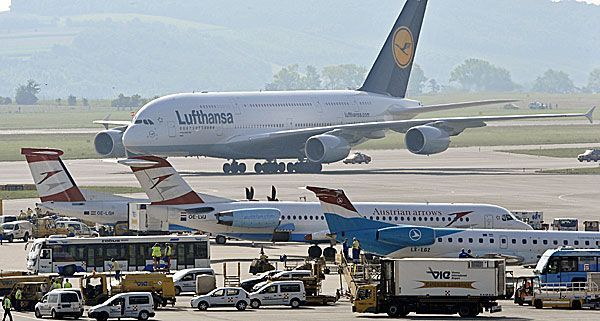 Flüge Frankfurt Wien