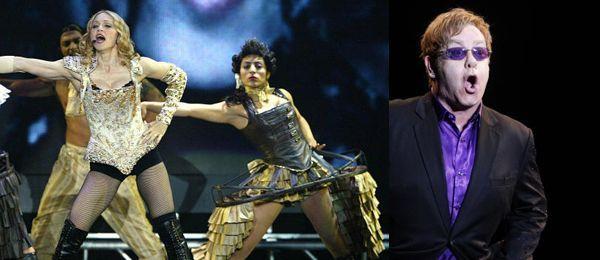 Wer hatte die bessere Party, Madonna oder Elton John?