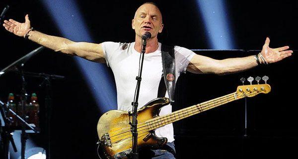 Mit 60 noch immer verdammt gut in Schuss: Sting.