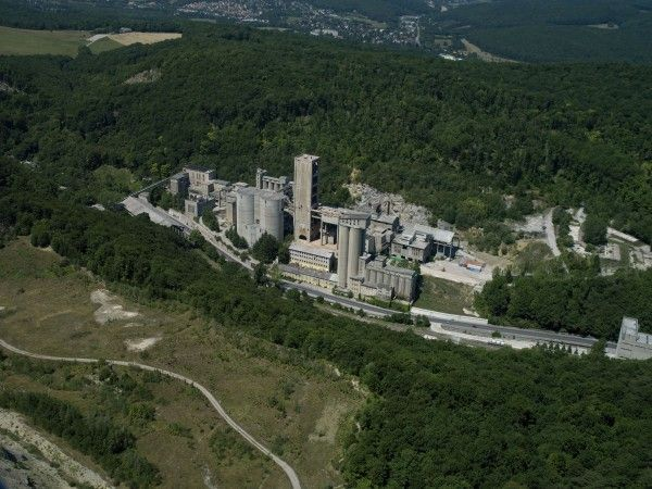 Das ist die aufgelassene Zementfabrik in Rodaun