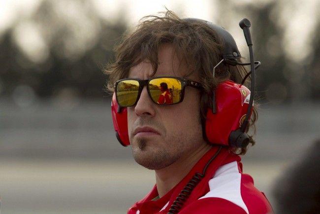 Fernando Alonso wird auch 2012 wieder für Ferrari an den Start gehen.