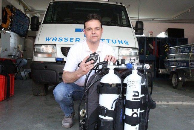 Markus Staudacher ging bei der Bergung bis an seine Leistungsgrenze. Die Erleichterung ist nun aber groß.