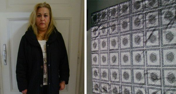 Die mutmaßliche Trickdiebin Marika S. (47) benutzte eine Decke, um ihre Opfer abzulenken