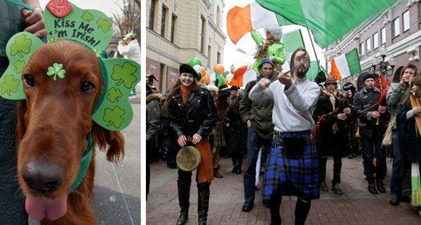 Nicht nur in Irland zelebriert: Fröhliche Stimmung weltweit am St. Patrick's Day.