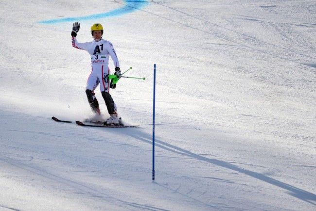 Marcel Hirscher nach dem Ausscheiden beim Slalom der Herren im Rahmen des Alpinen Ski-Weltcup-Finales.