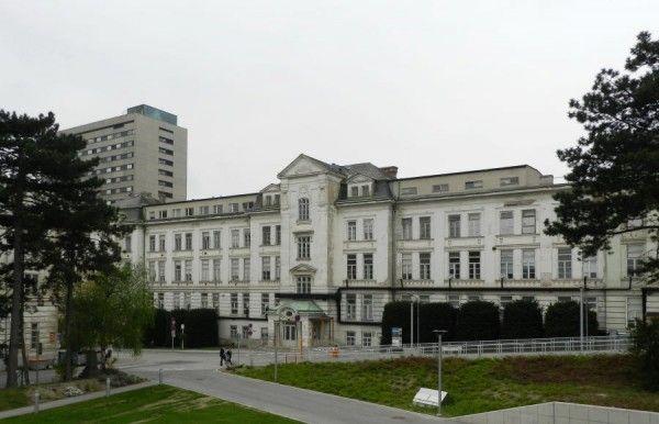 Soll abgerissen werden: Die ehemalige Kinderklinik, ein bauhistorisch wertvolles Gebäude