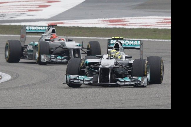 Nico Rosberg triumphiert in China.