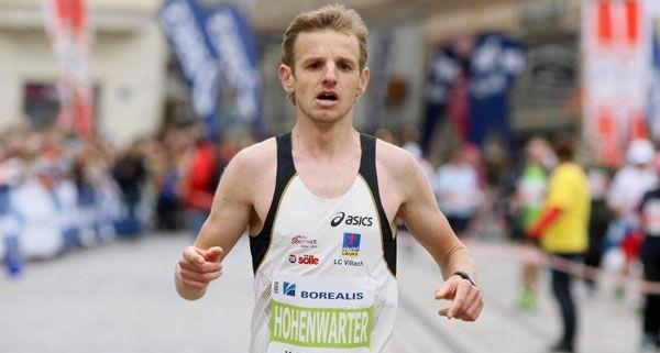 Markus Hohenwarter wurde bester Österreicher beim Linz-Marathon, verpasste aber mit seiner Zeit die Olympia-Teilnahme knapp.