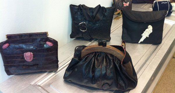 Taschen-Fans finden bei Lidia Friedman originelle Unikate.