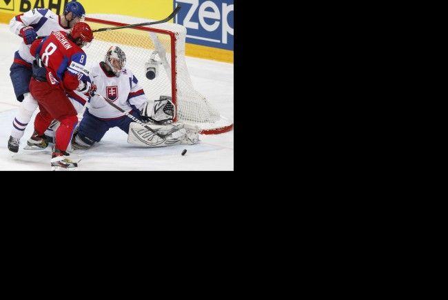 Russland schlägt Slowakei im WM-Finale mit 6:2.