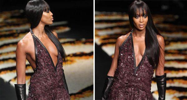 Auch Naomi Campbell mischt beim großen Event mit.