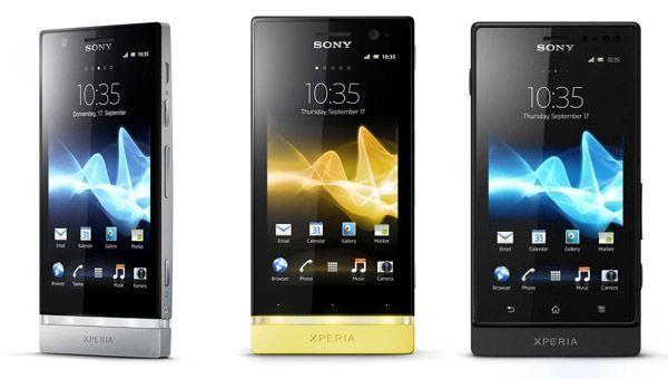 Die neuen Sony Smartphones P, U und Sola sind bald auf dem Markt.