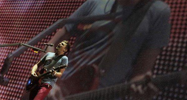 Muse spielen live im November 2012 in Wien.
