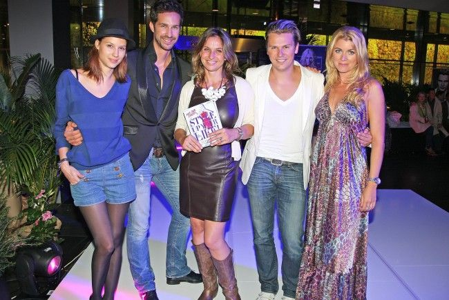 Gute Laune bei der Style Up Your Life!-Party im Stilwerk.