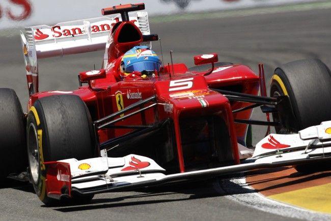 Alonso nach Heimtriumph in Valencia WM-Leader.