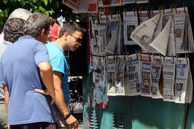 Koalitionsverhandlungen laufen auf Hochtouren. Die Headlines in Griechenland überschlagen sich.