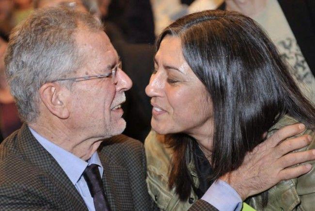 Werden sich in Hinkunft öfter sehen: Alexander van der Bellen und Maria Vassilakou
