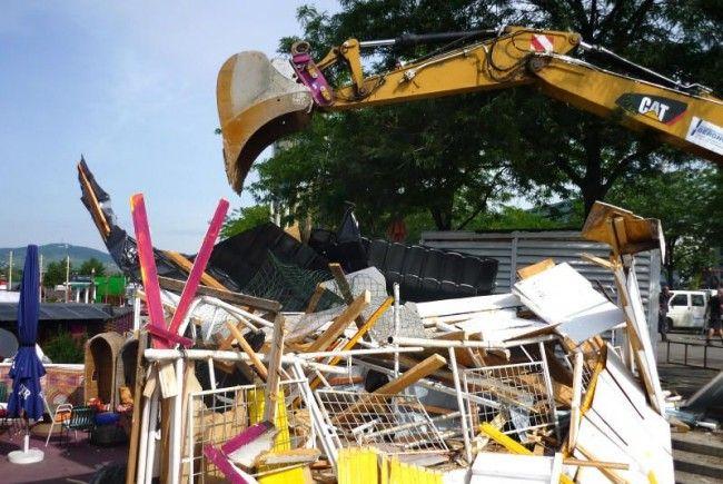 Das Ende der Verkaufsstände: Stadt Wien macht klar Schiff an der Copa Cagrana