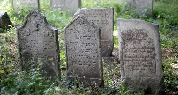50 Grabsteine auf dem Jüdischen Friedhof in der Seegasse wurden restauriert.