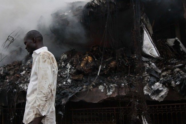 Flugzeugabstürze sind in Nigeria keine Seltenheit.