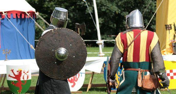 Am Wochenendefindet auf der Zirkuswiese in Alt-Erlaa das Ritterfest statt.