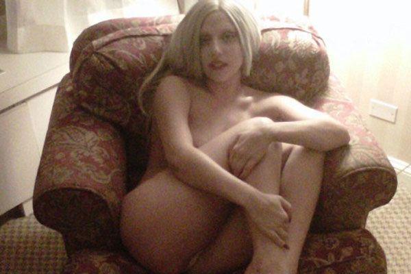 Lady Gaga wie Gott sie schuf.