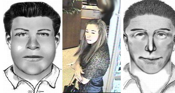 Raub nach Bankomatbehebung: Die Polizei fahndet nach diesen drei Personen.