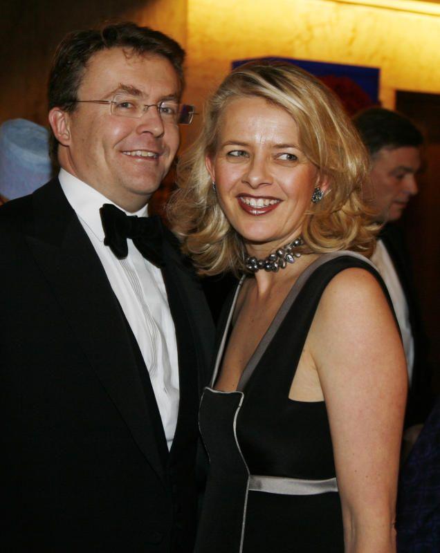 Der niederländische Prinz mit seiner Frau Mabel in glücklichen Tagen.