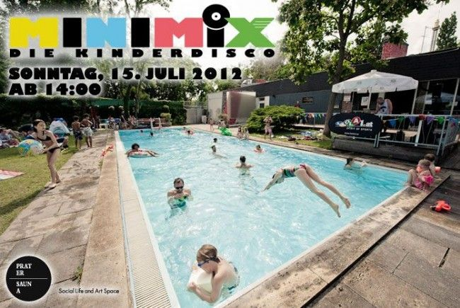 Kinder-Poolparty am 15. Juli in der Pratersauna