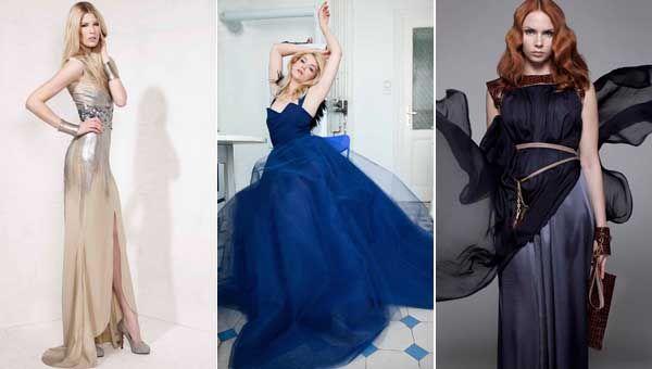 Heimische Designer bei der Fashion Week.