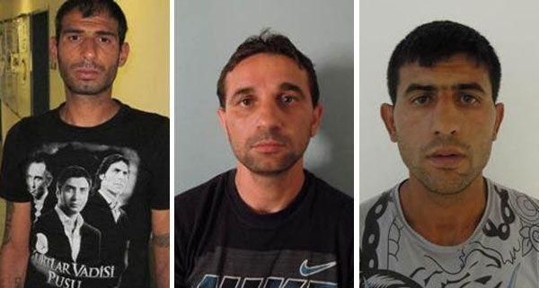 Weitere mögliche Opfer dieser drei Halskettendiebe werden gesucht.