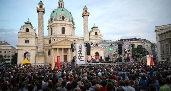 50.000 Besucher waren an den drei Veranstaltungstagen des Popfests dabei.