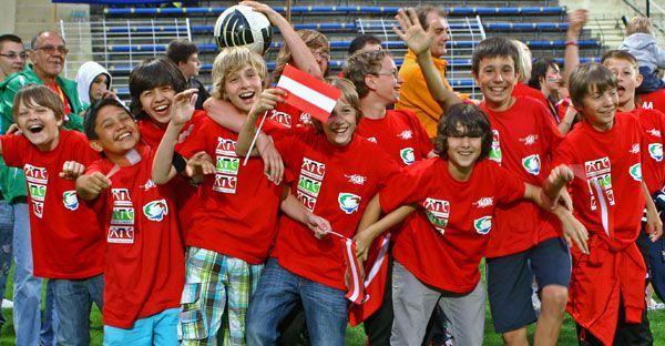 Das österreichische Team beim World Sports Festival im Vorjahr.