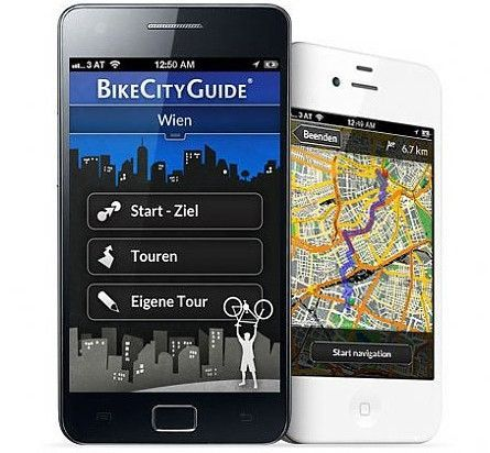 bikecityguide navi app f r sterreich deutschland und. Black Bedroom Furniture Sets. Home Design Ideas