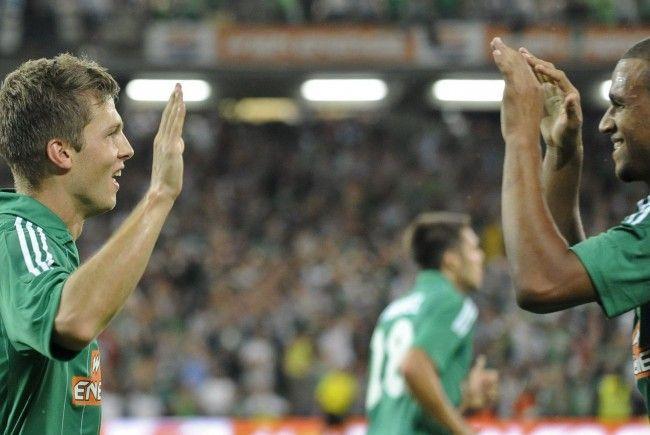 Der SK Rapid Wien zog nach dem Match gegen PAOK Saloniki in die EL-Gruppenphase ein.