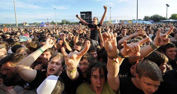 100 Bands werden in vier Tagen für die richtige Festivalstimmung am Frequency sorgen