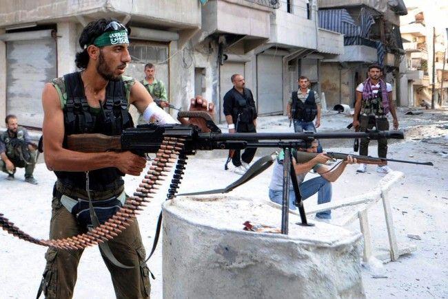 USA und Türkei wollen syrischen Bürgerkrieg verhindern.