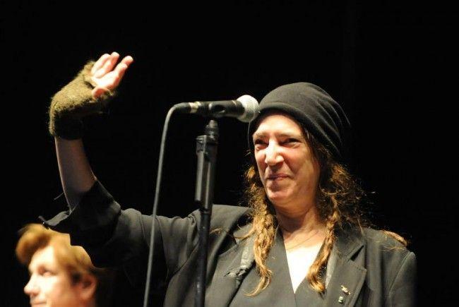 Patti Smith zeigte sich fidel wie eh und je in der Arena Wien.