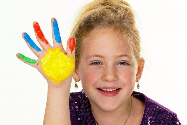Lassen sie Ihre Kinder Kunst mit Spiel und Spass verbinden