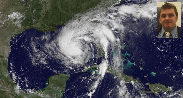 Leo Frei hat schon den einen oder anderen Tropensturm miterlebt - auch Isaac.
