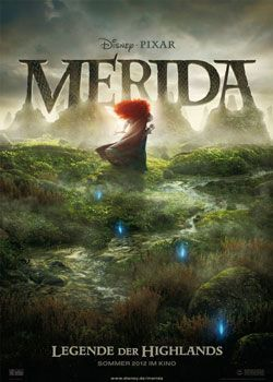Merida – Legende der Highlands 3D – Trailer und Kritik zum Film